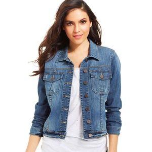 KUT | Amelia Denim Jacket Size L